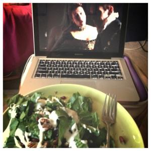 cranberry and pecan salad Mmmmm