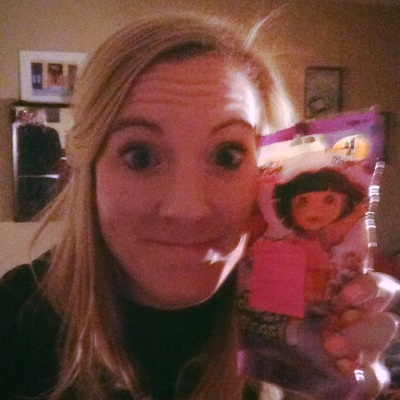 Dora ring pops for Valentines Day :)