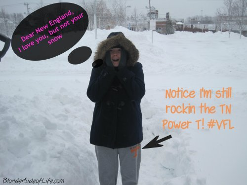 This was taken in '13 after Blizzard Nemo
