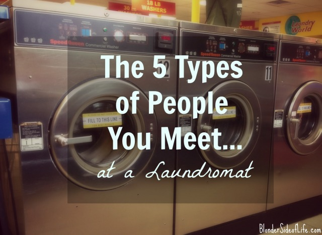 Laundromat people