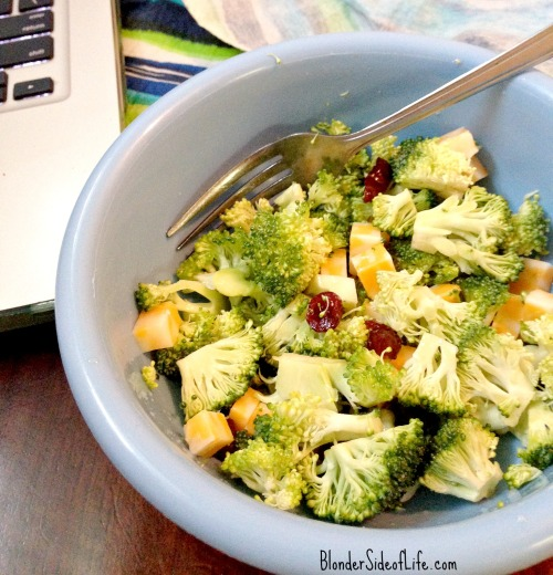 Broccoli-Cheddar Salad