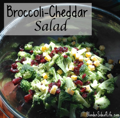 broccoli-Cheddar Salad recipe