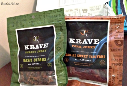 Krave turkey and pork jerky flavors