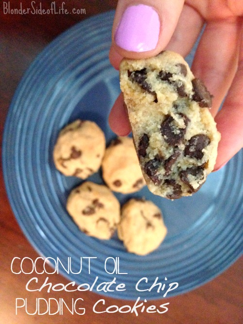 Coconut Oil Chocolate Chip Cookie recipe