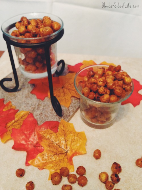 garlic parmesan roasted chickpeas recipe
